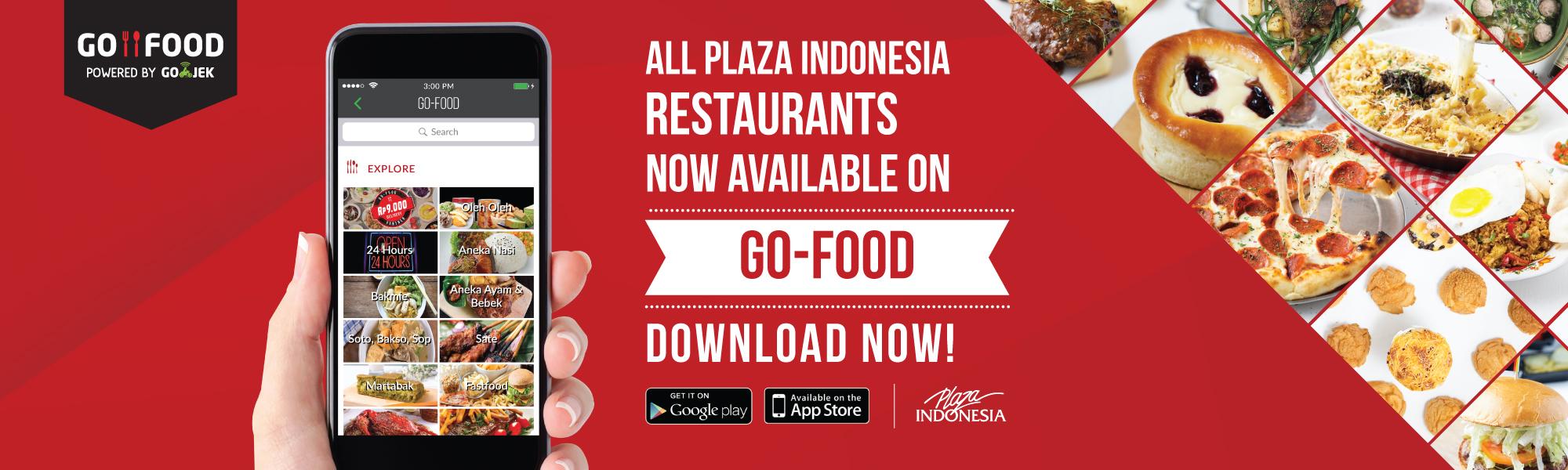 Semua Restaurant di Plaza Indonesia ada di GO-FOOD | GO-FOOD
