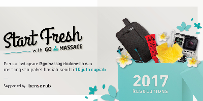 Start Fresh with GO-MASSAGE!