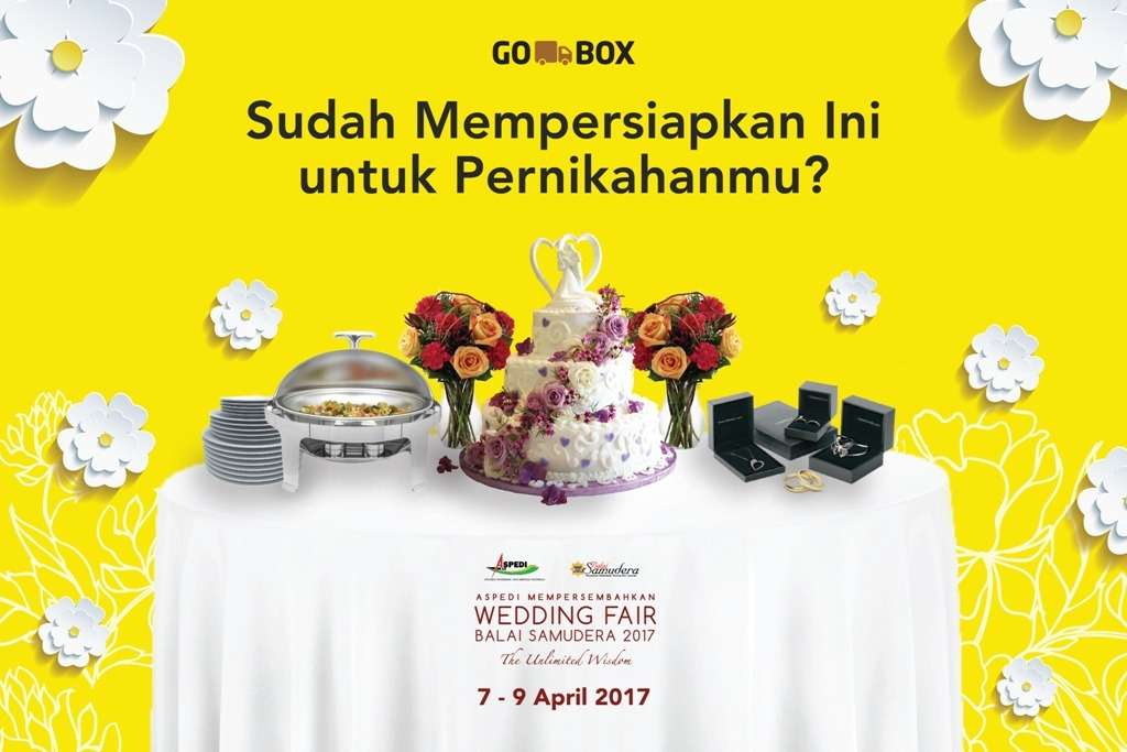 GO-BOX Support Para Tenant di Wedding Balai Samudera