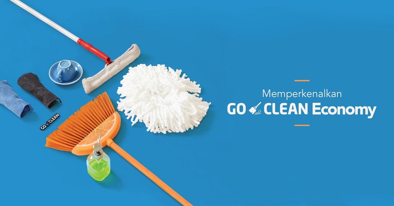 Punya Alat Kebersihan Sendiri? Go-Clean Economy solusi hemat untuk Anda