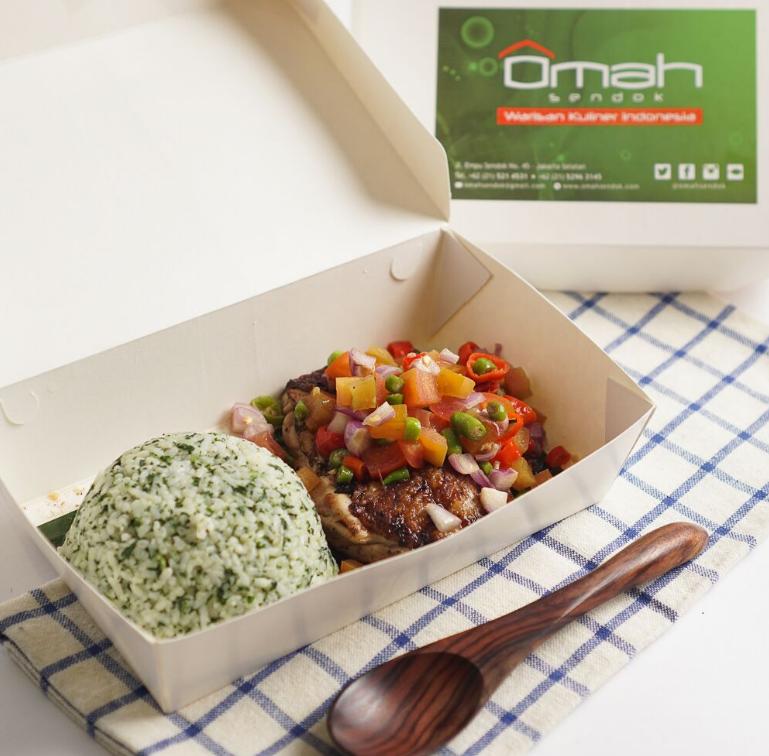 7 nasi kotak ini porsinya pas dan bikin perut kenyang gofood gojek